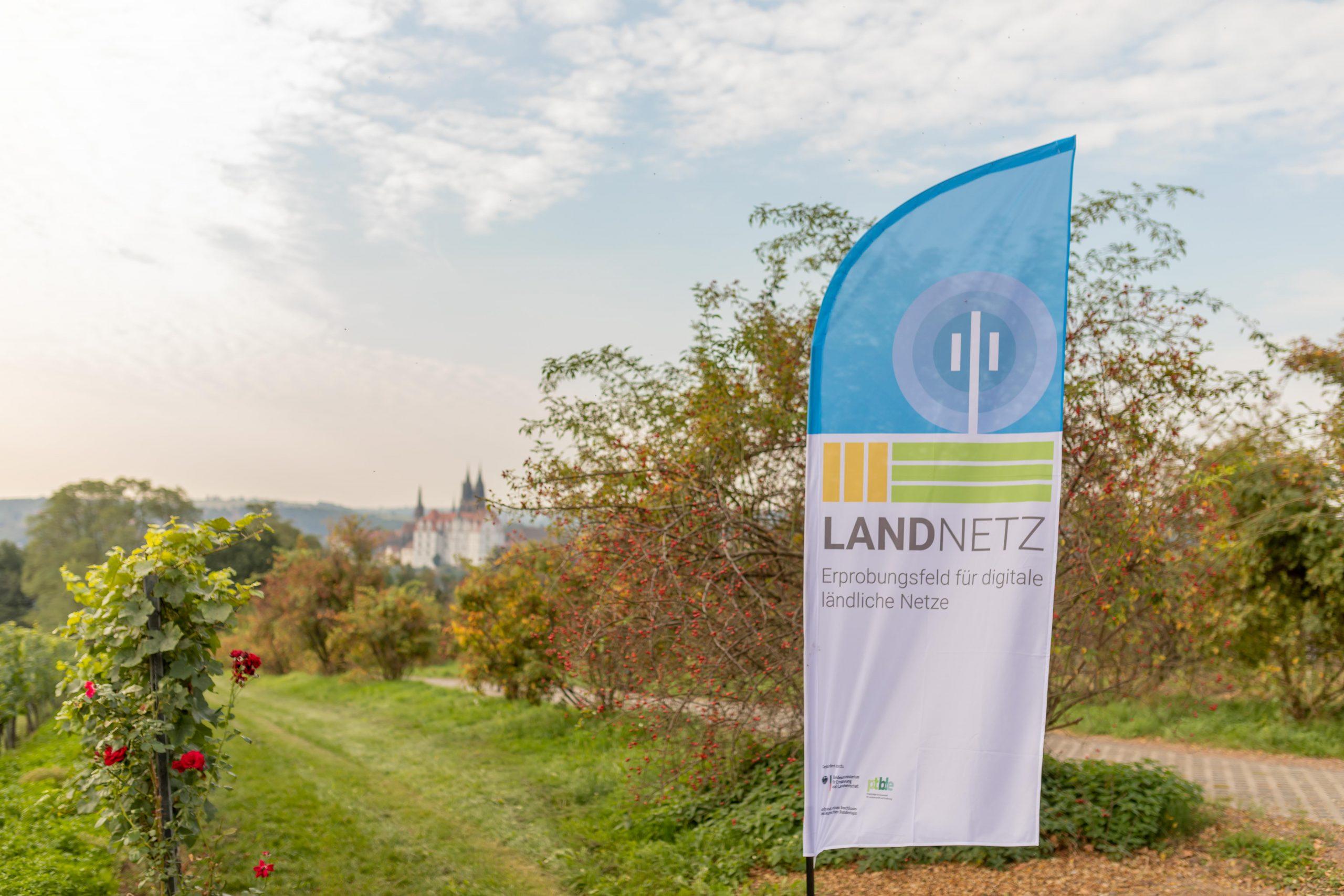 Landnetz im Weinberg